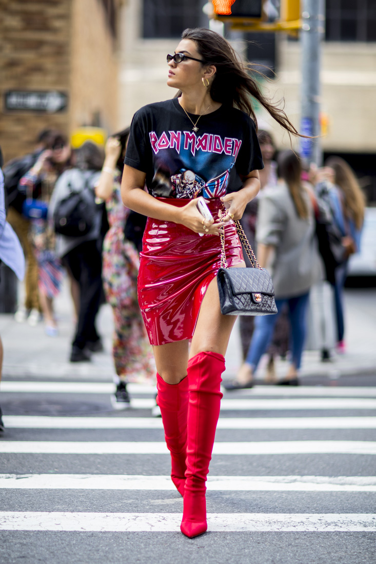 c1f72ad9d96 New York Fashion Week Spring-Summer 2018 – The Street Style Edition